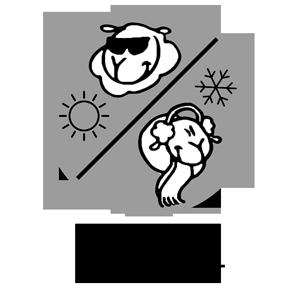 icone matelas double face été/hiver