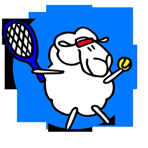whisper sporty tennis image
