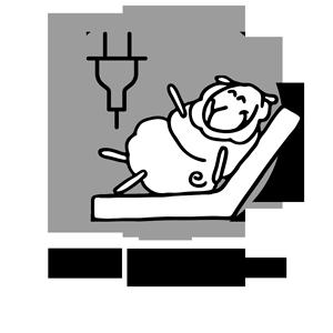 icone lit électrique ou articulé