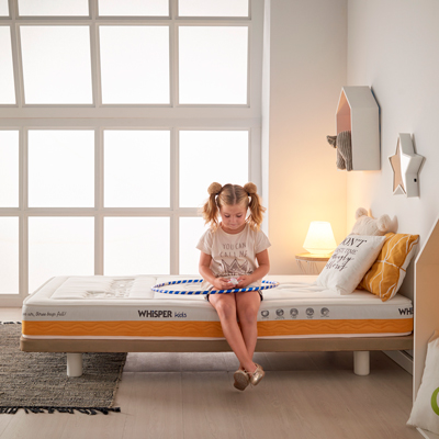 Matelas Whisper KIDS yellow