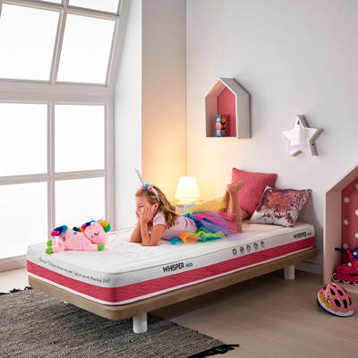 Whisper KIDS pink mattress